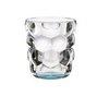 BUBBLES - Набор стаканов 2 шт. для воды с голубым донышком 330 мл бессвинцовый хрусталь