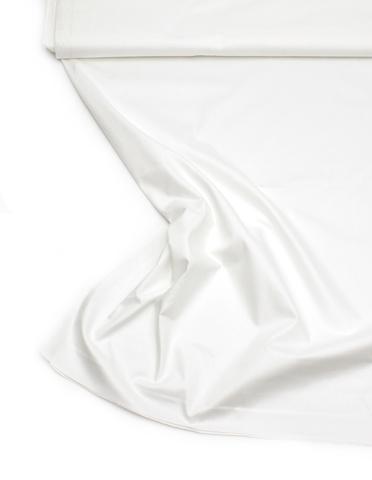 Белый сатин - теплый оттенок