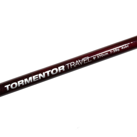 Удилище спиннинговое тревел 4х коленное Abu Garcia Tormentor Travel Spin 9ft (274 см., 7-28 г.) (1520991)