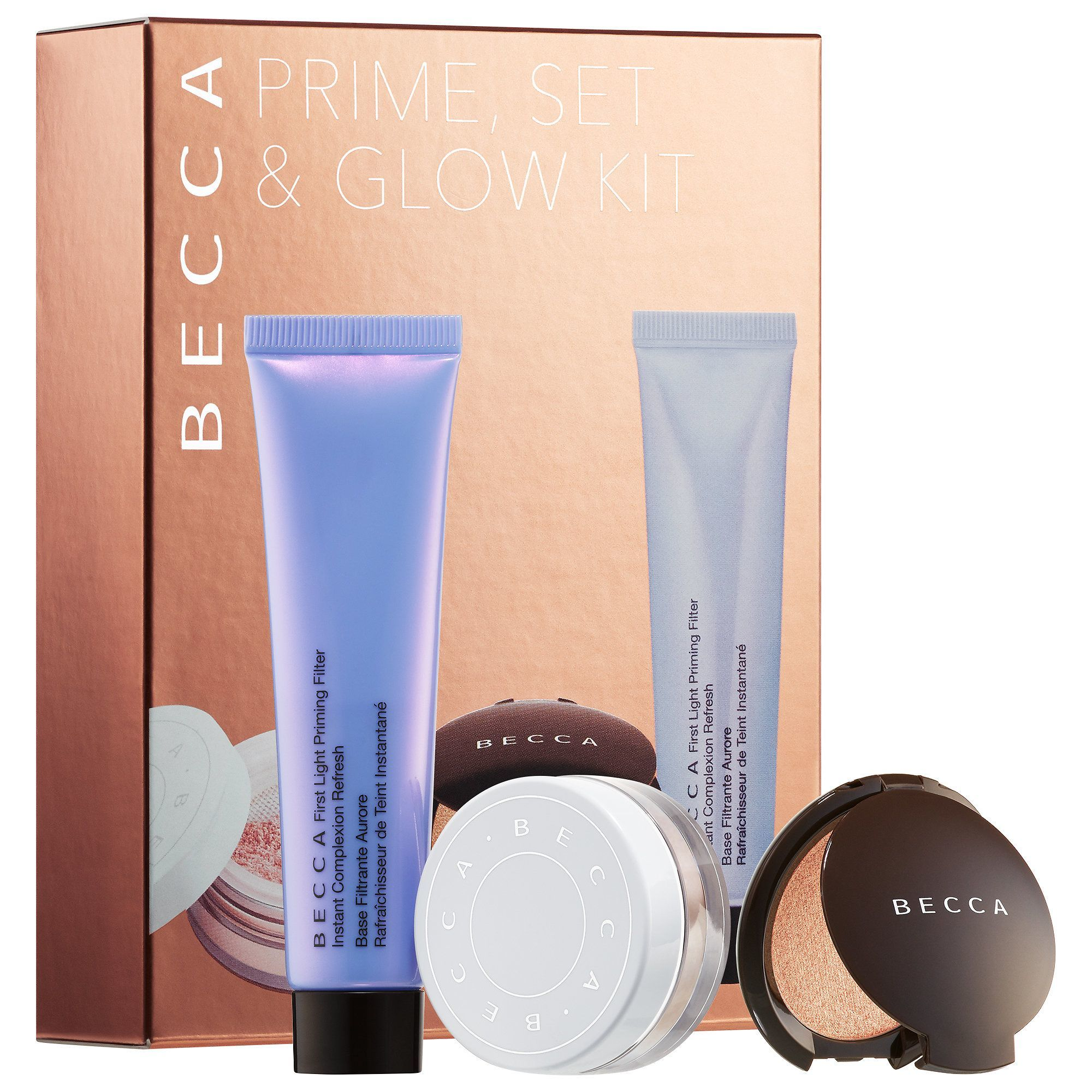 BECCA Prime Set & Glow Kit