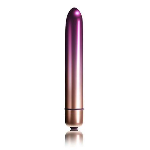 Фиолетовый мини-вибратор Climaximum Sapora - 13,5 см.