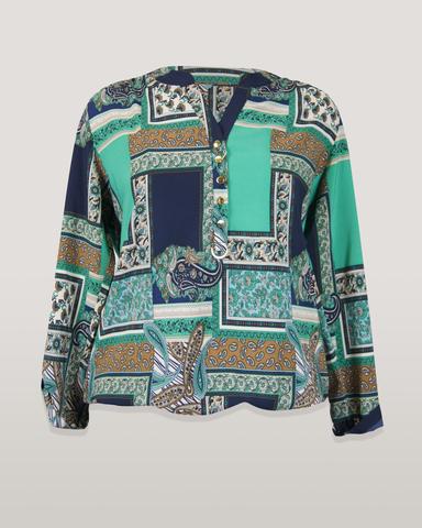 Блузка EV-GO Ала платки