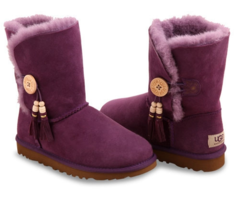 UGG Bailey Button Charms Purple