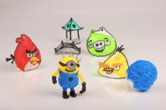 PLA пластик для 3D ручки 50 метров (5 цветов по 10 метров)