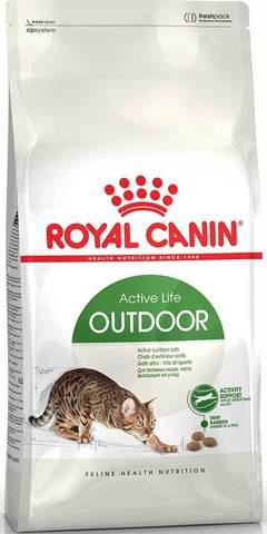 10 кг. ROYAL CANIN Сухой корм для взрослых активных котов и кошек, часто бывающих на улице Outdoor 30 Active Life