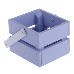 Ящик реечный, 11*12*9 см с ручкой, 1 шт.