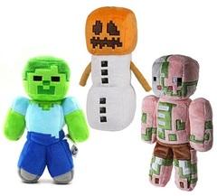 Майнкрафт мягкие игрушки — Minecraft