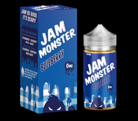 Jam Monster 100 мл Blueberry