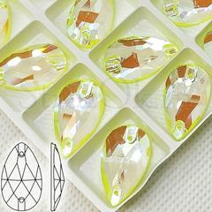 Купить неоновые стразы оптом в Санкт-Петербурге Neon Yellow AB, Drope недорого