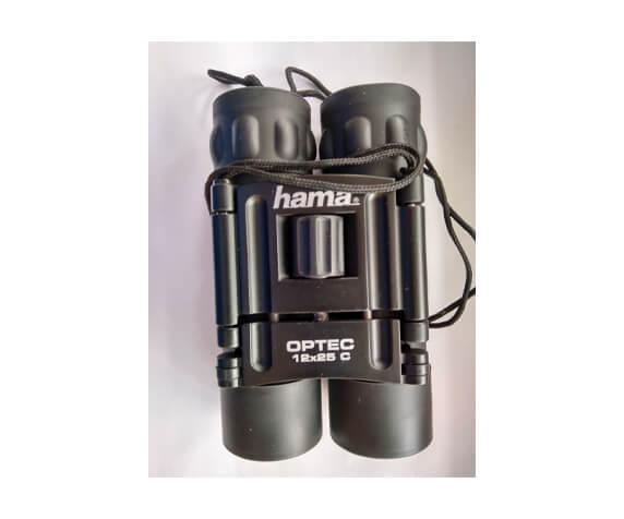 Бинокль Hama 12x25 Optec Roof, черный - фото 2