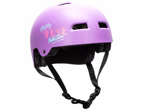 Шлем Fuse Alpha Alpha Miami фиолетовый