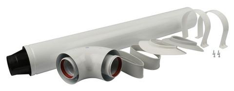 Комплект коаксиальный Stout DN Ø60/100 мм - 850 мм. (BX/VS) SCA-6010-210850