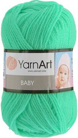 Пряжа YARNART BABY № 623 мятный
