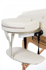 Массажный стол деревянный 2-хсекционный RESTPRO VIP 2 Cream