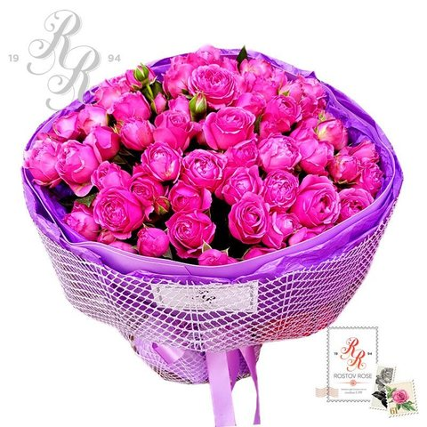 Популярные букеты роз