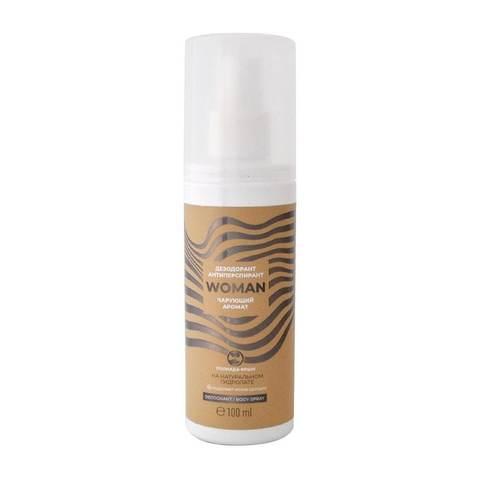 Дезодорант-антиперспирант натуральный с календулой «Чарующий аромат» (Пк)