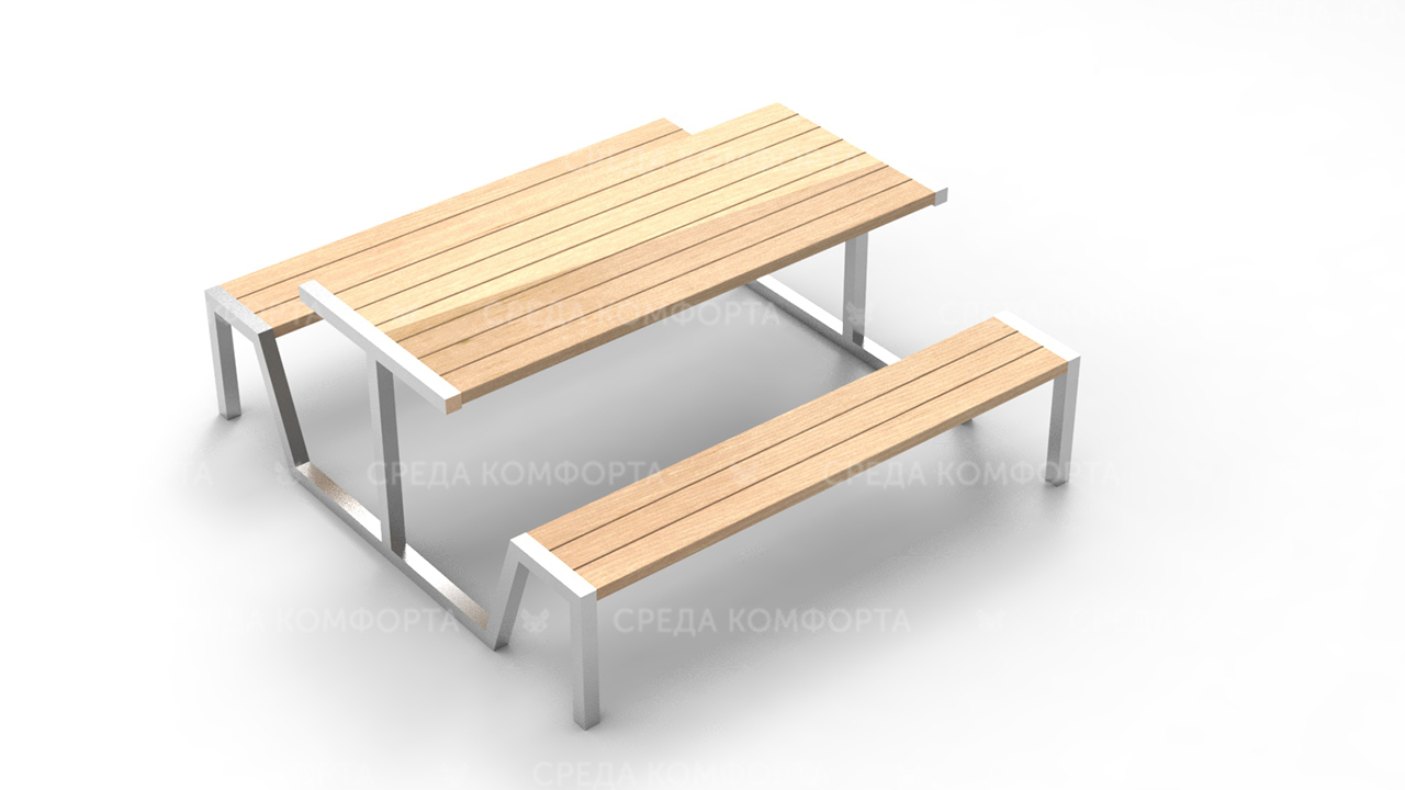 Скамейка со столом SCAM0229