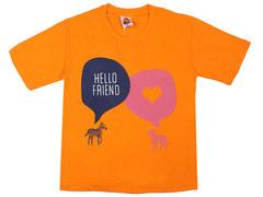 937-6 футболка детская, оранжевая