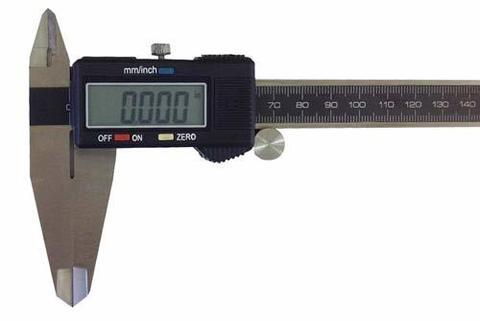 Штангенциркуль с цифровым индикатором 0-150 мм / 0,01 мм