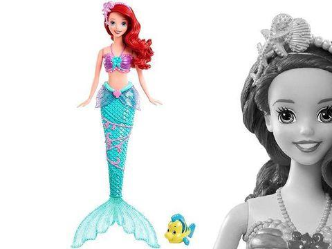 Кукла Ариэль Принцесса Диснея, с фонтанчиком