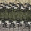 Пряжа YarnArt Crazy Color 15999 (Молочный, хаки,серый)