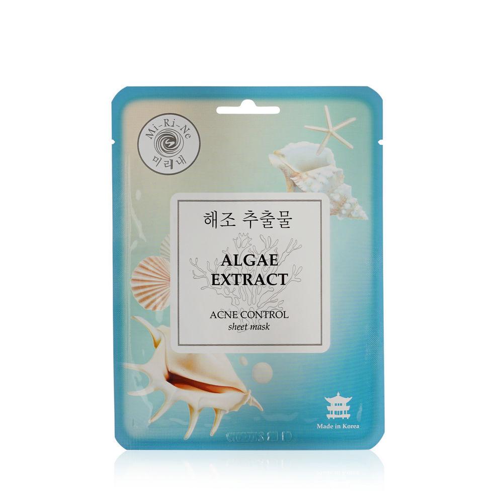 Маска тканевая Mi-Ri-Ne Algae Extract Acne Control