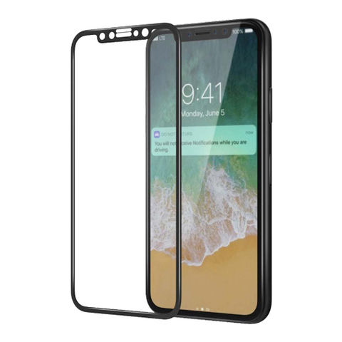 Защитное 3D-стекло PremiumGlass для iPhone X/XS/11 Pro Black - Черное