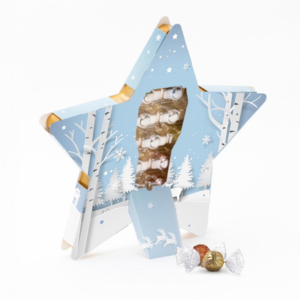 Адвент календарь «Звезда» с индивидуальным дизайном