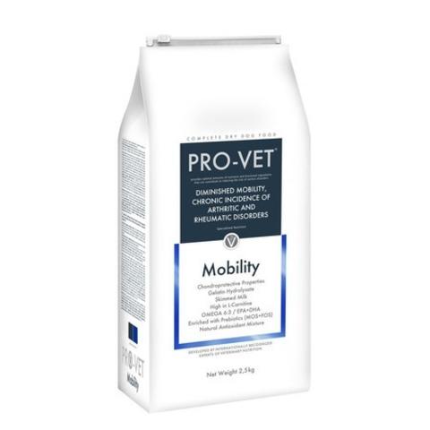 Pro-Vet Dog Mobility сухой корм для взрослых собак при заболевании суставов и опорно двигательного аппарата - 2,5 кг