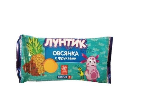 Батончик Лунтик овсянка с фруктами (Линфас) 40г