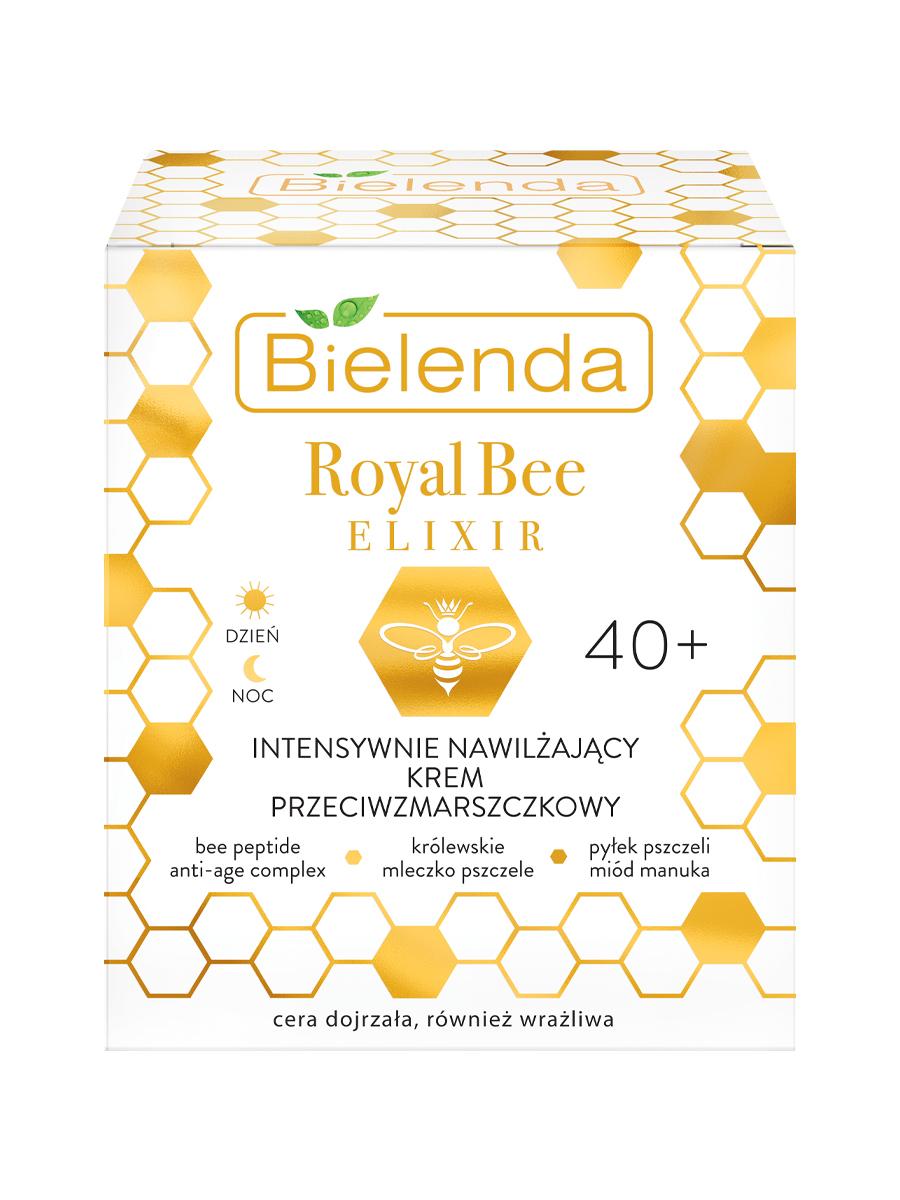 ROYAL BEE ELIXIR Интенсивно увлажняющий крем для лица  против морщин 40+, 50 мл