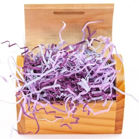 Наполнитель бумажный, Фиолетовый микс, 50 гр