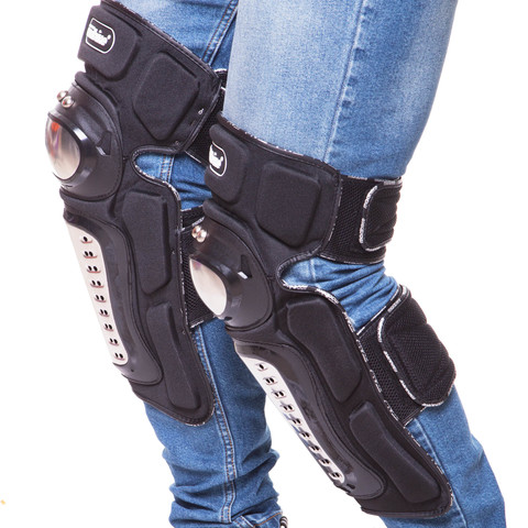 Мотозащита MADBIKE (колено, голень) 2шт, черный