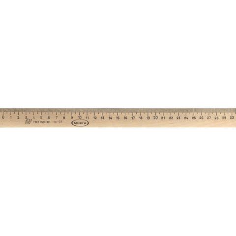 Линейка Можга деревянная 30 см