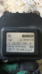 Моторчик заслонки печки б/у для грузовых автомобилей МАН ТГА, номер BOSCH - 0132801114. В наличии. Оригинальные номера MAN - 81286016118.