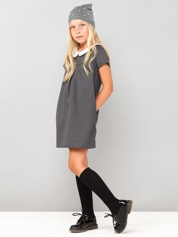 Платье из смесовой шерсти на подкладке свободное