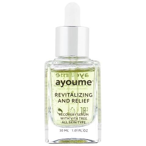 Витаминная сыворотка с облепихой и зелёным чаем Ayoume Vita Tree Revitalizing And Relief Recovery Se