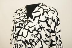 Блузка Elite 3392 запах абстракция 3/4