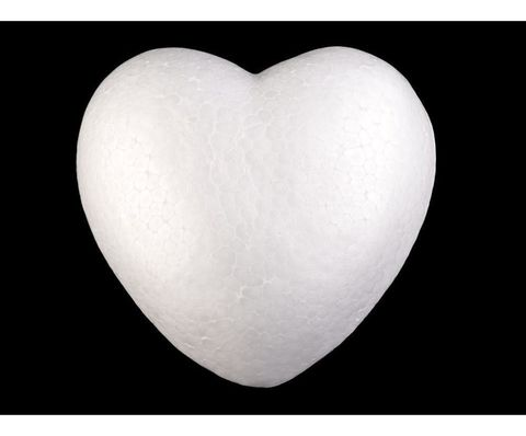 054-1639 Сердце из пенопласта (3 шт.) 9 см