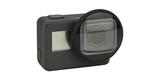 Макролинза PolarPro для HERO5 Black и HERO6 Black на камере вид спереди