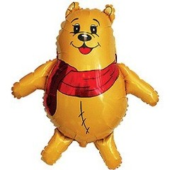 F Мини-фигура Медвежонок в шарфике 14
