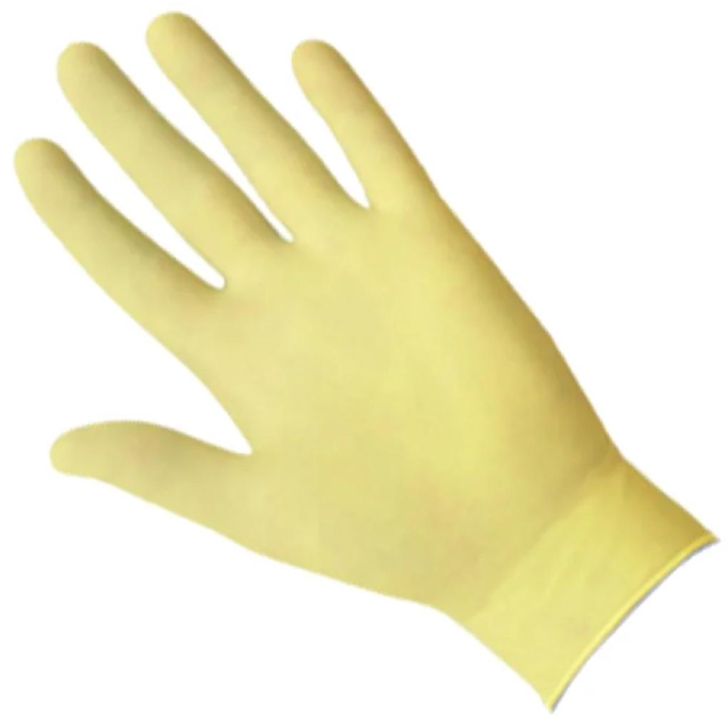 Перчатки Safe&Care Желтые TL 202 (100 шт.) размер ХS