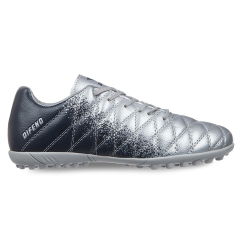 Сороконожки футбольные, серебряный-темно-синий, 40-45