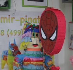 пиньята Человек паук , мир -пиньята , mir-pinata.ru