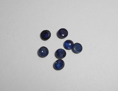 Сапфир синий 3,6 мм круг