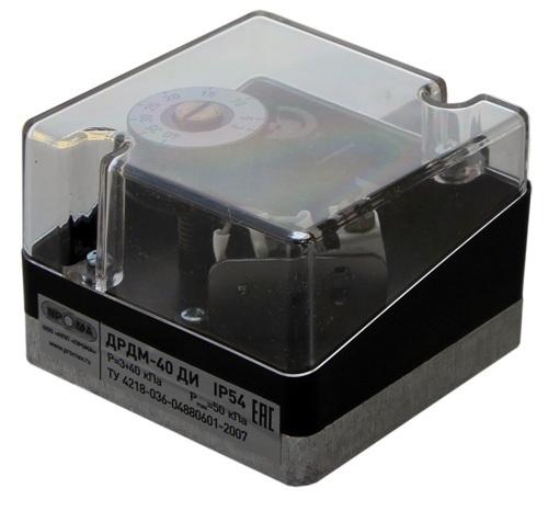 ДРДМ, датчики-реле давления механические