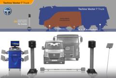 Стенд сход-развал 3D Техно Вектор 7 Truck  V 7204 HT MR