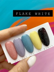 Луи Филипп Flake White, гель лак прозрачный, 10мл.
