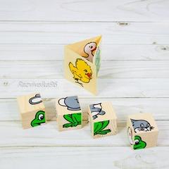 Кубики пазл