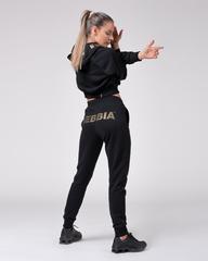 Брюки женский Nebbia 826 Sweatpants Gold Classic